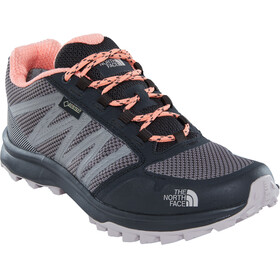 The North Face Litewave Fastpack GTX Shoes Women Phantom Grey/Desert Flower Orange
